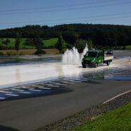 Fuhrpark LKW Wasser Testfahrt