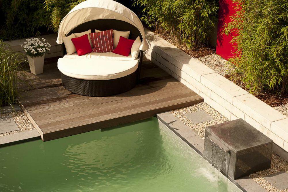schwimmbad im garten konzept. Black Bedroom Furniture Sets. Home Design Ideas