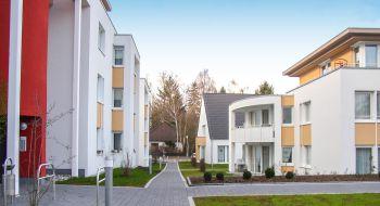 Begrünung der Außenanlage der Martin Luther Stiftung Hanau